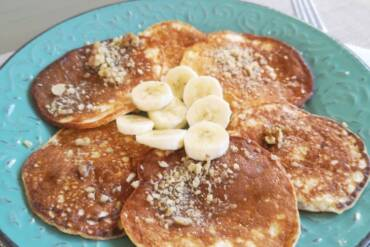 High protein pancakes